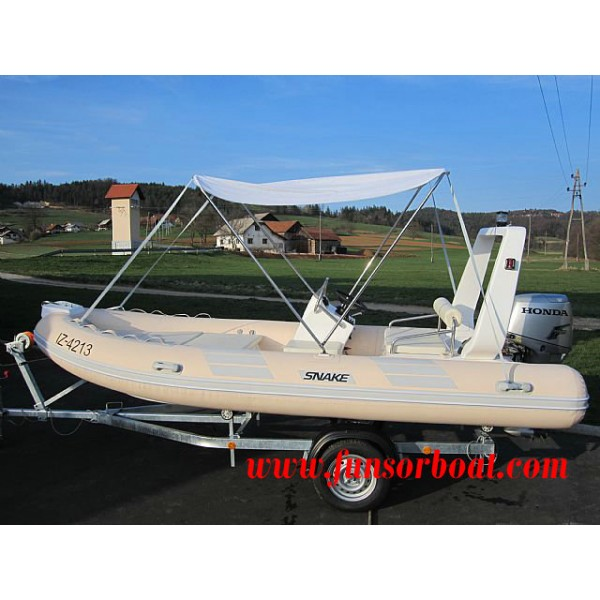 FRP Inflatable Boats 4.8m